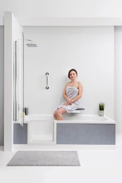 Duschen im Sitzen