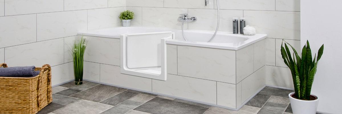 Badewannentür & Duscheinstieg – schnell » sicher » preiswert