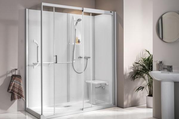 Behindertengerechte Dusche Kinemagic Royal +